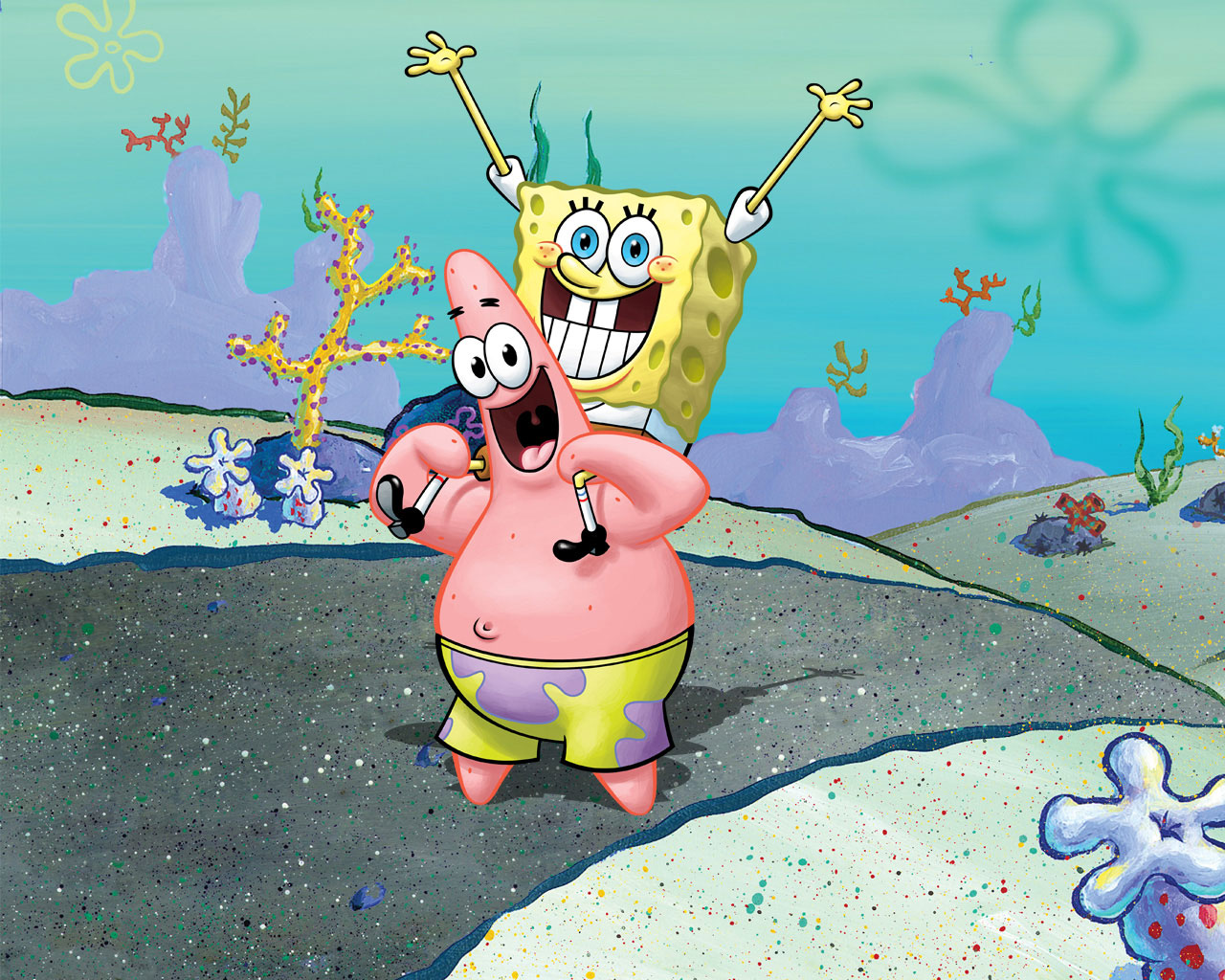 Spongebob Amp Patrick Spongebob Squarepants Wallpaper X