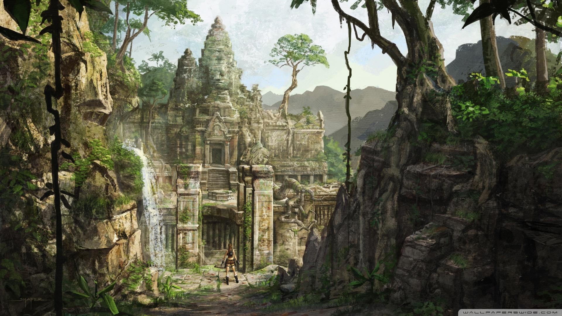 Tomb Raider Underworld Art Wallpaper 1920x1080 Tomb Raider 1920x1080