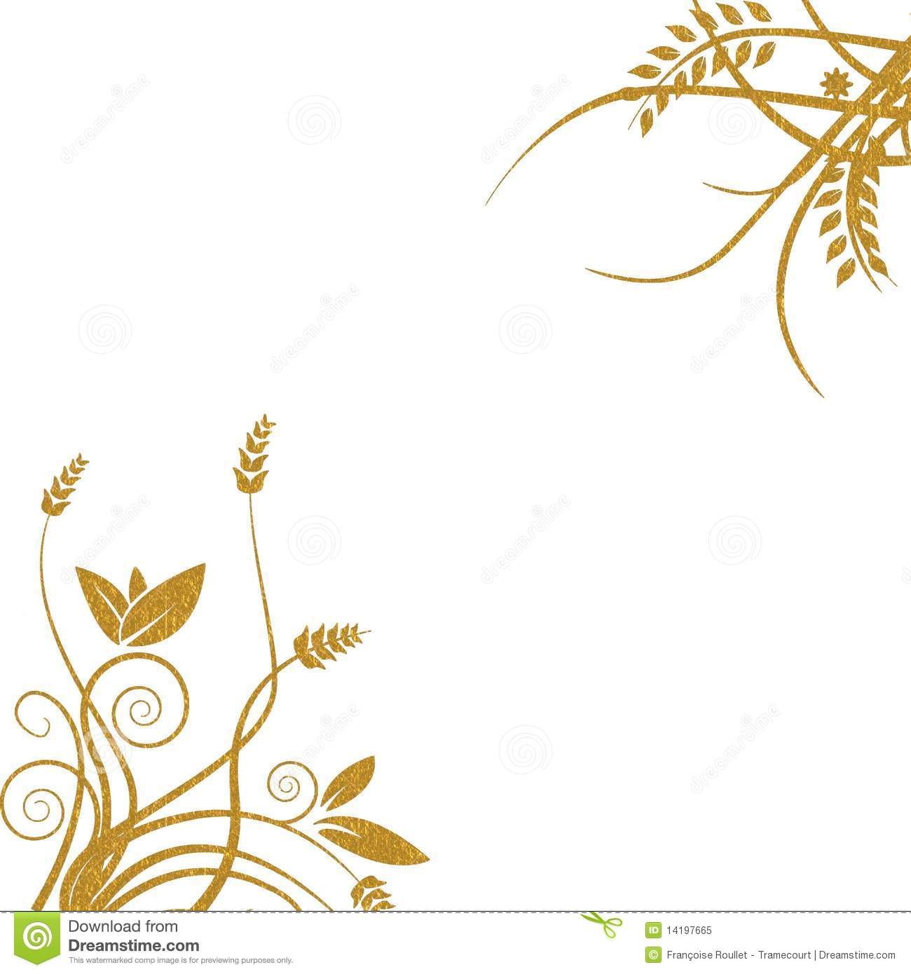 Gold Floral Background Royalty F 1300x1390
