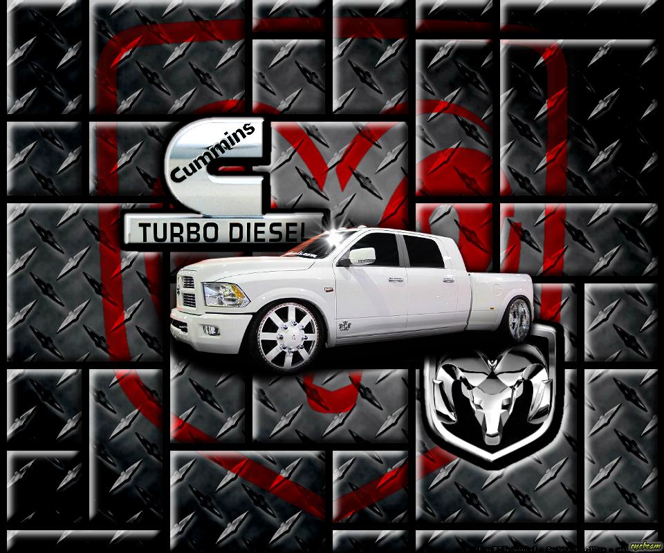 Cummins Logo Wallpaper Dodge cummins diesel 3500 by 960x800