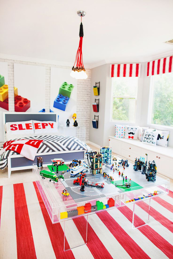 10 Best Kids Bedroom With Lego Themes Home Design And Interior 600x900