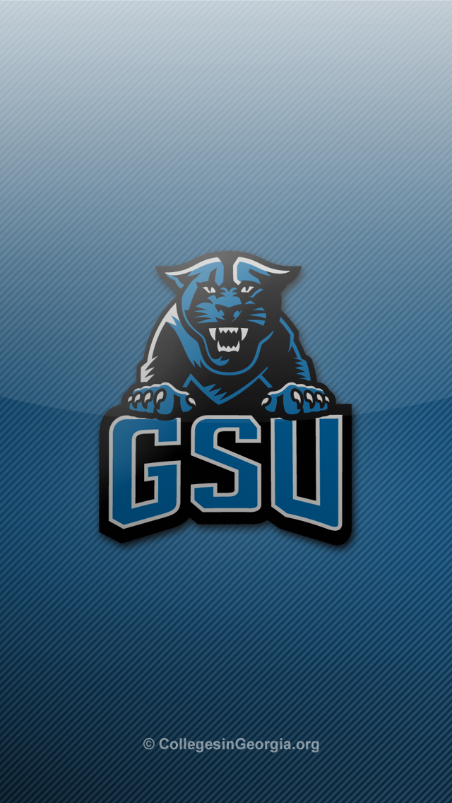 Download thumbs georgia state panthers iphone 5 wallpaper 2 640x1136