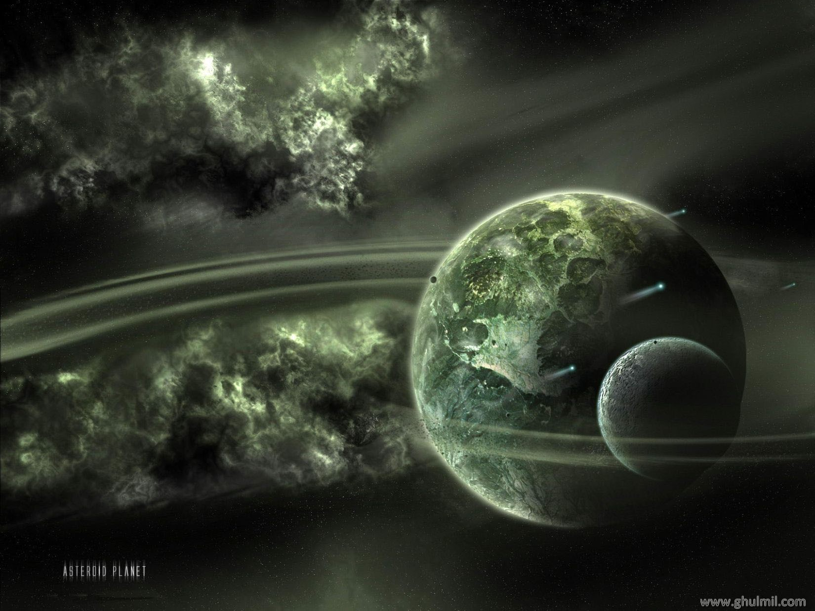 3d hd planets wallpaper for laptops E Entertainment 1650x1238