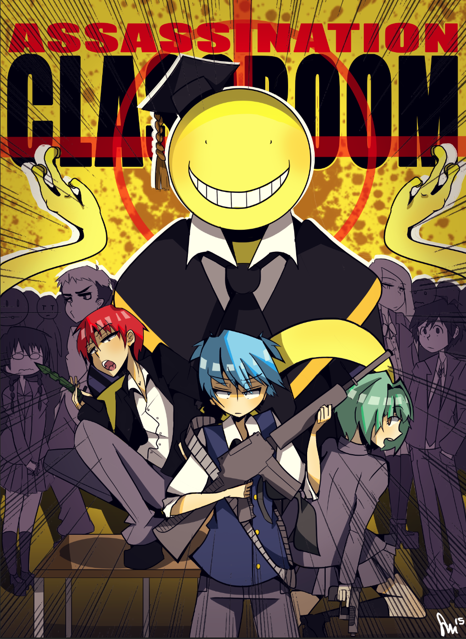 Free Download Assassination Classroom By Misydentify
