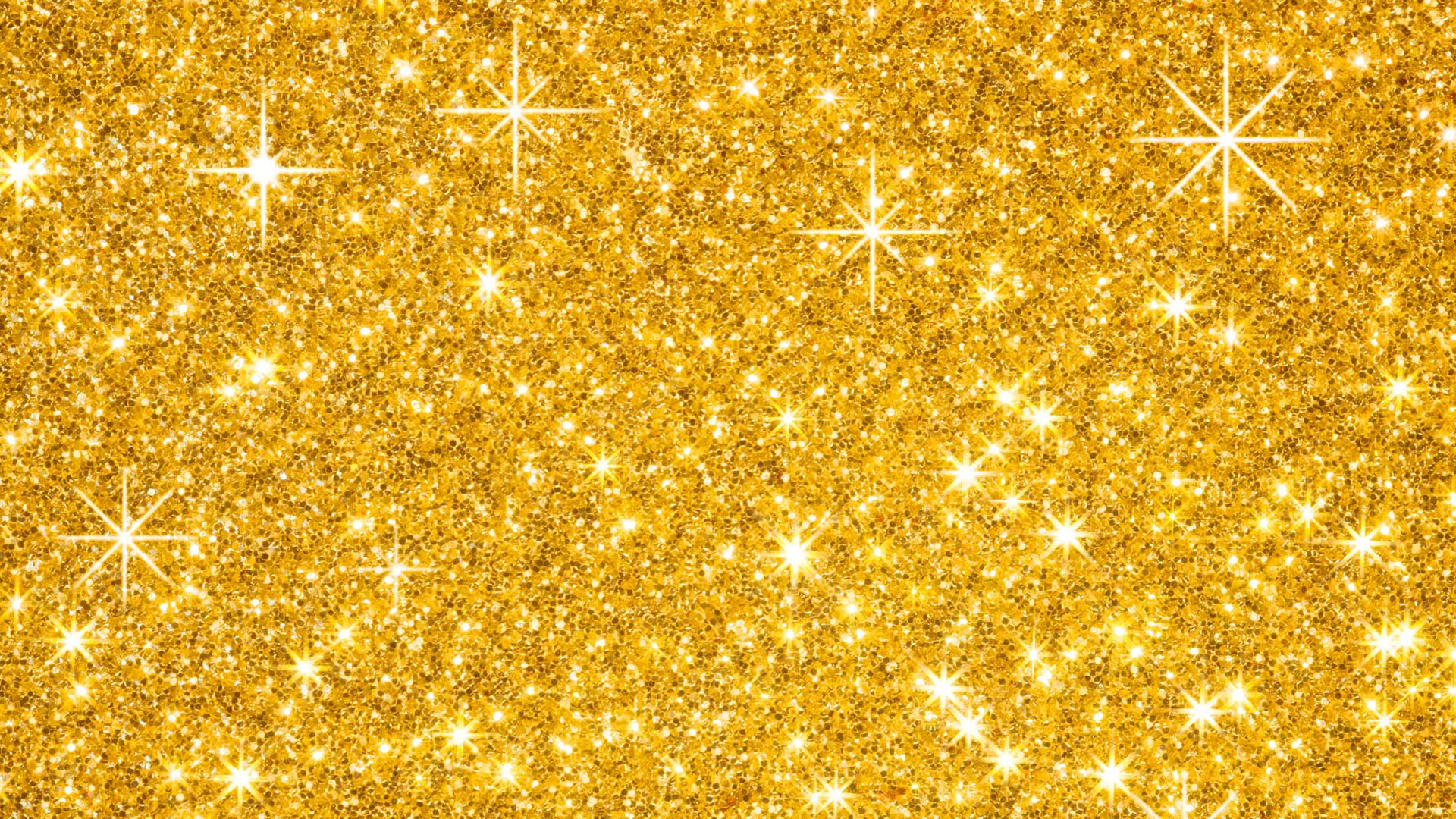 Gold Glitter Wallpaper HD 1920x1080