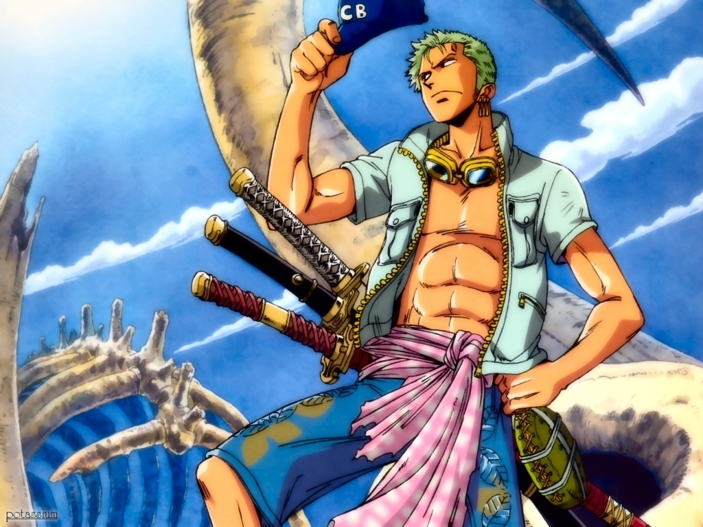 Zoro   One Piece Wallpaper 7026630 1024x768