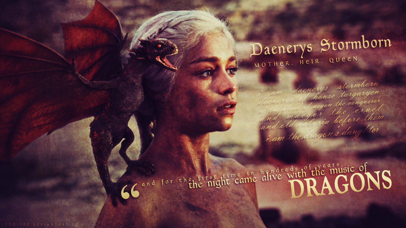 game of thronesimages24011005titledaenerys targaryen wallpaper 1600x900