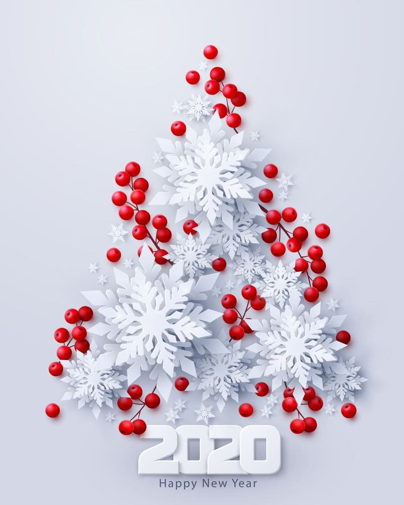 download Happy New Year 2020 Merry Christmas Images 800x1000