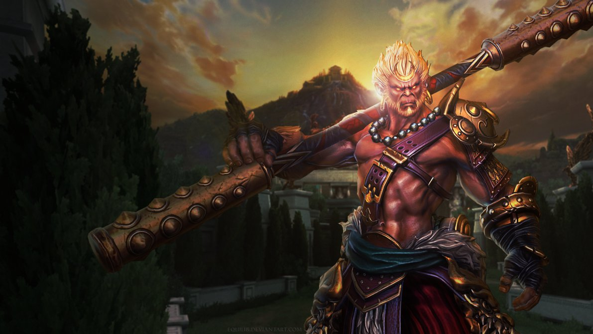 Smite   Sun Wukong Wallpaper by Equilib 1191x670