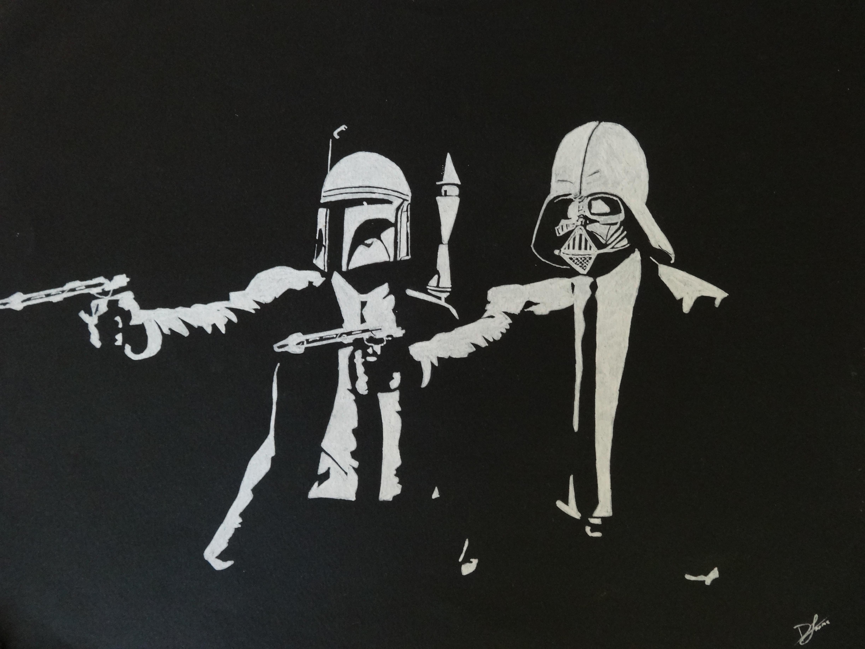 Free Download Pulp Fiction Wallpaper Star Wars Star Warspulp