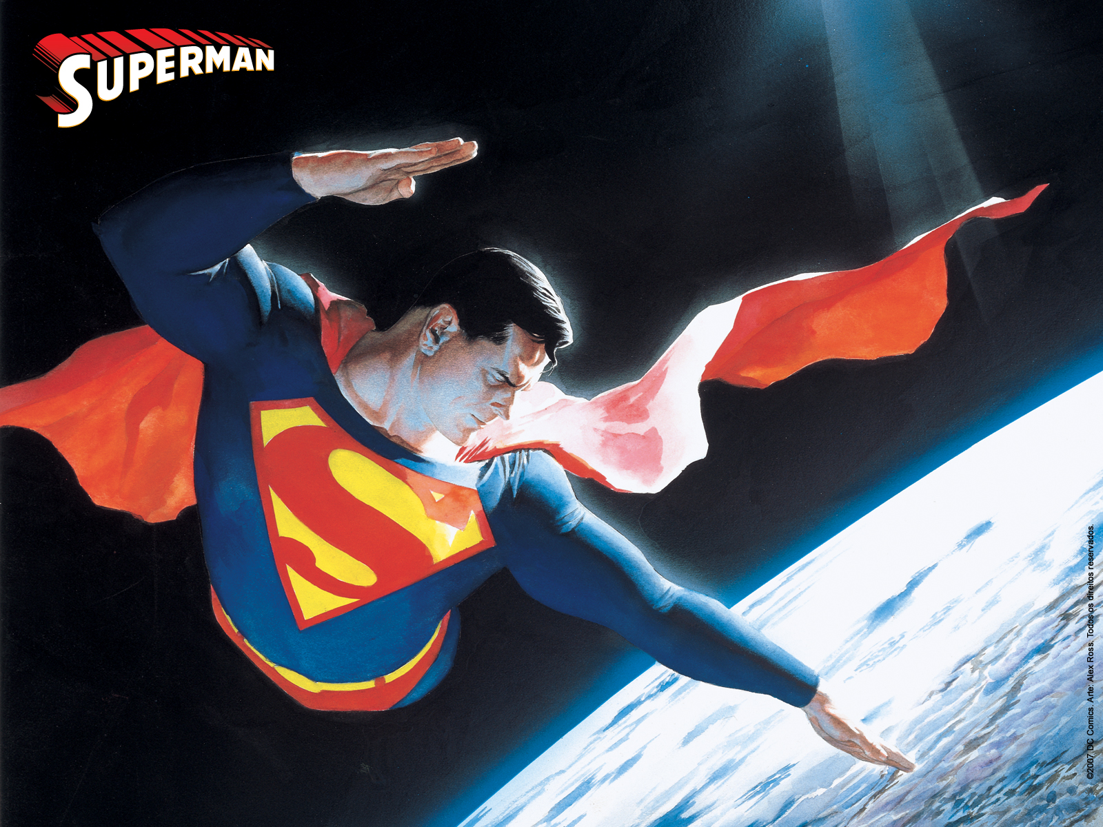 File Name Download Superman Cartoon Wallpaper 1600x1200