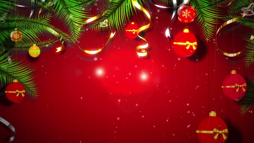 Elegant Christmas Background With Stars Series 7 852x480