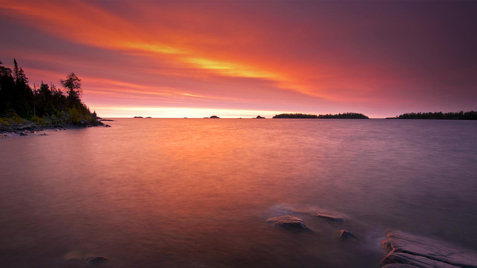 Americas 58 National Parks   Isle Royale National Park Michigan 1920x1080