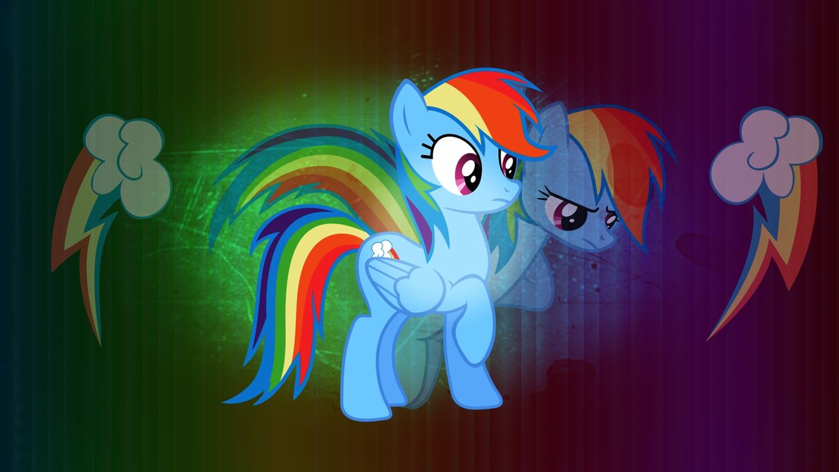 Rainbow Dash Wallpaper by CKittyKat98 1191x670
