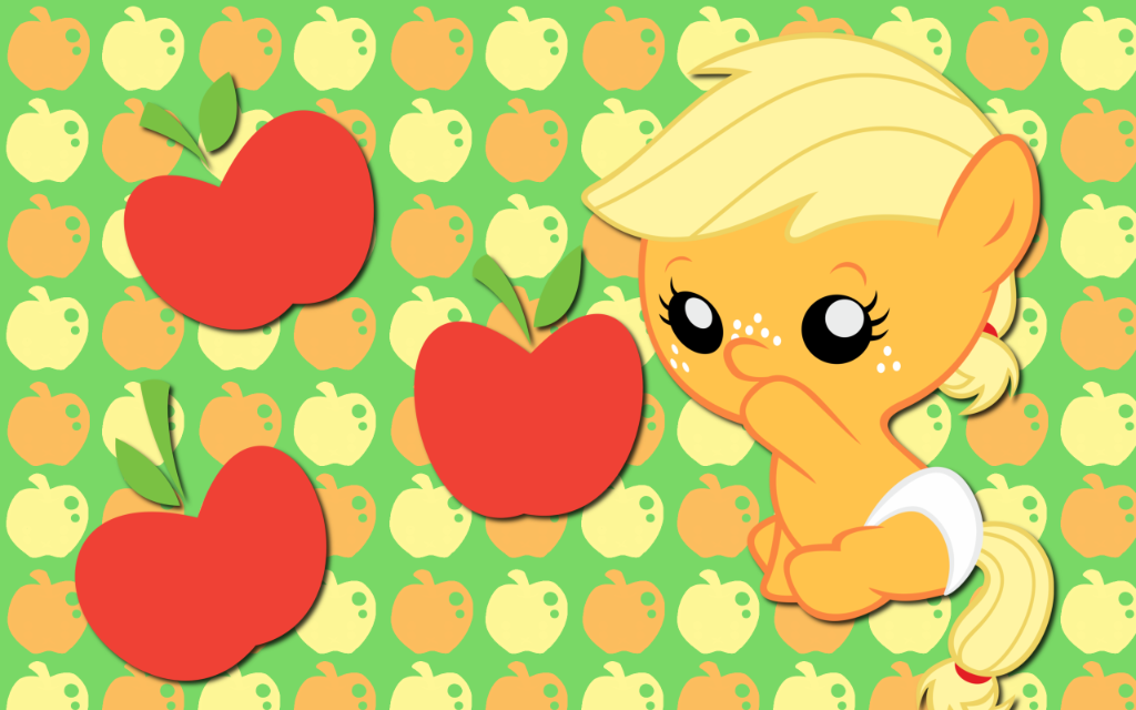 Baby Applejack   Applejack Wallpaper 30963368 1024x640
