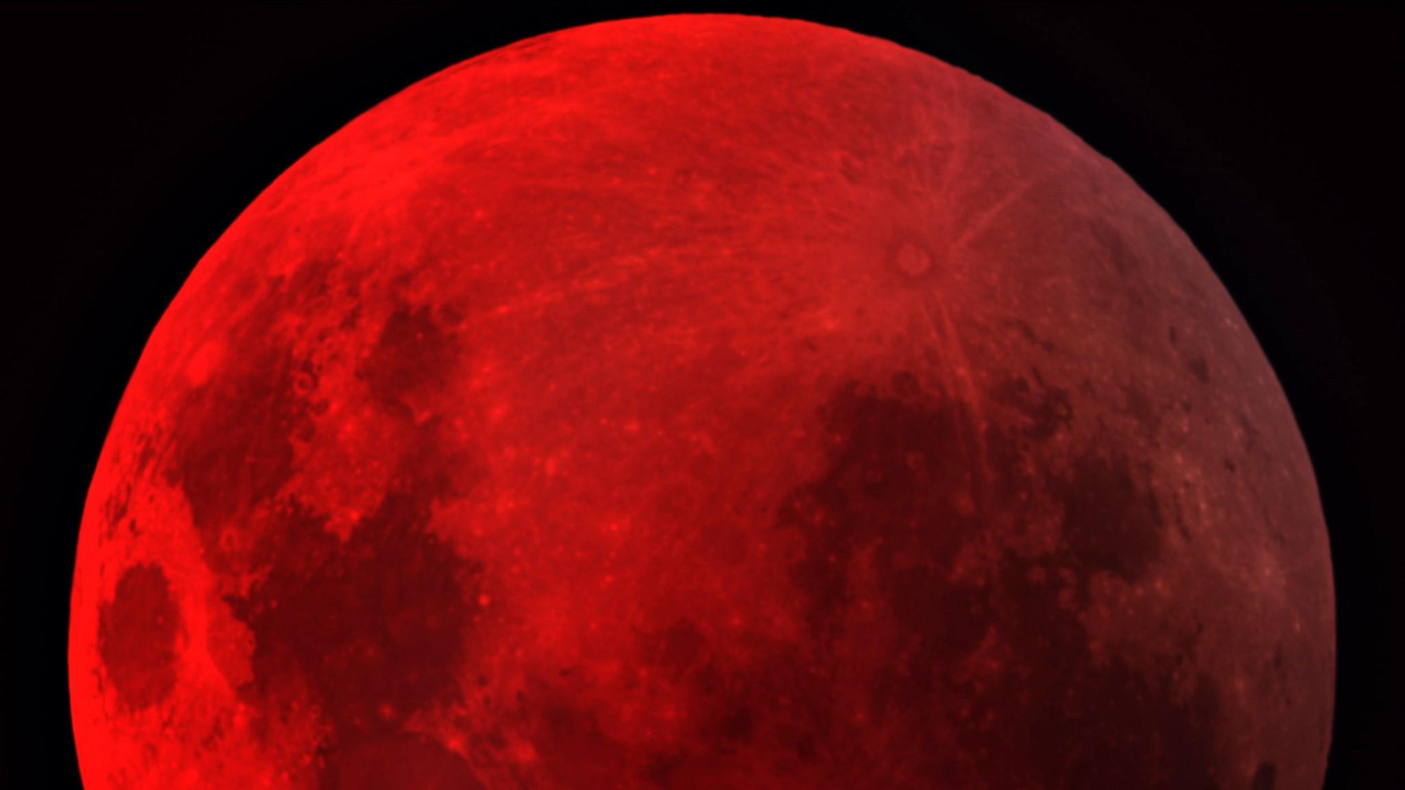 Blood Moon Wallpaper HD - WallpaperSafari