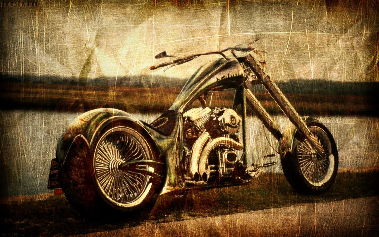 Vintage Chopper Wallpaper   Best HD Wallpapers 1600x1000