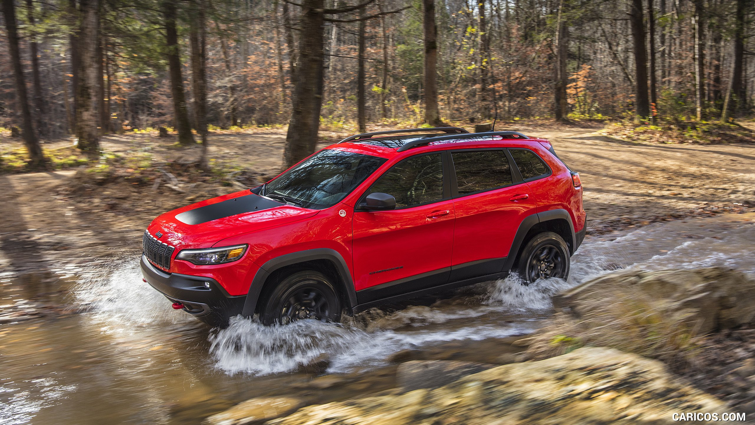 2019 Jeep Cherokee Trailhawk   Off Road HD Wallpaper 42 2560x1440