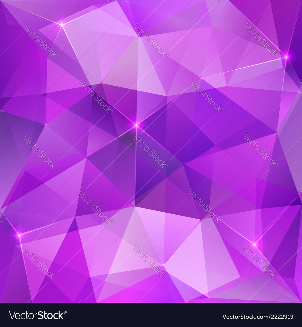 Violet crystal abstract background Royalty Vector Image 1000x1080