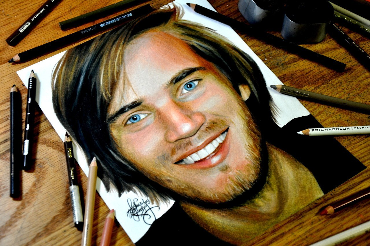drawing game pewdiepie 39 PewDiePie Wallpaper HD On WallpaperSafari