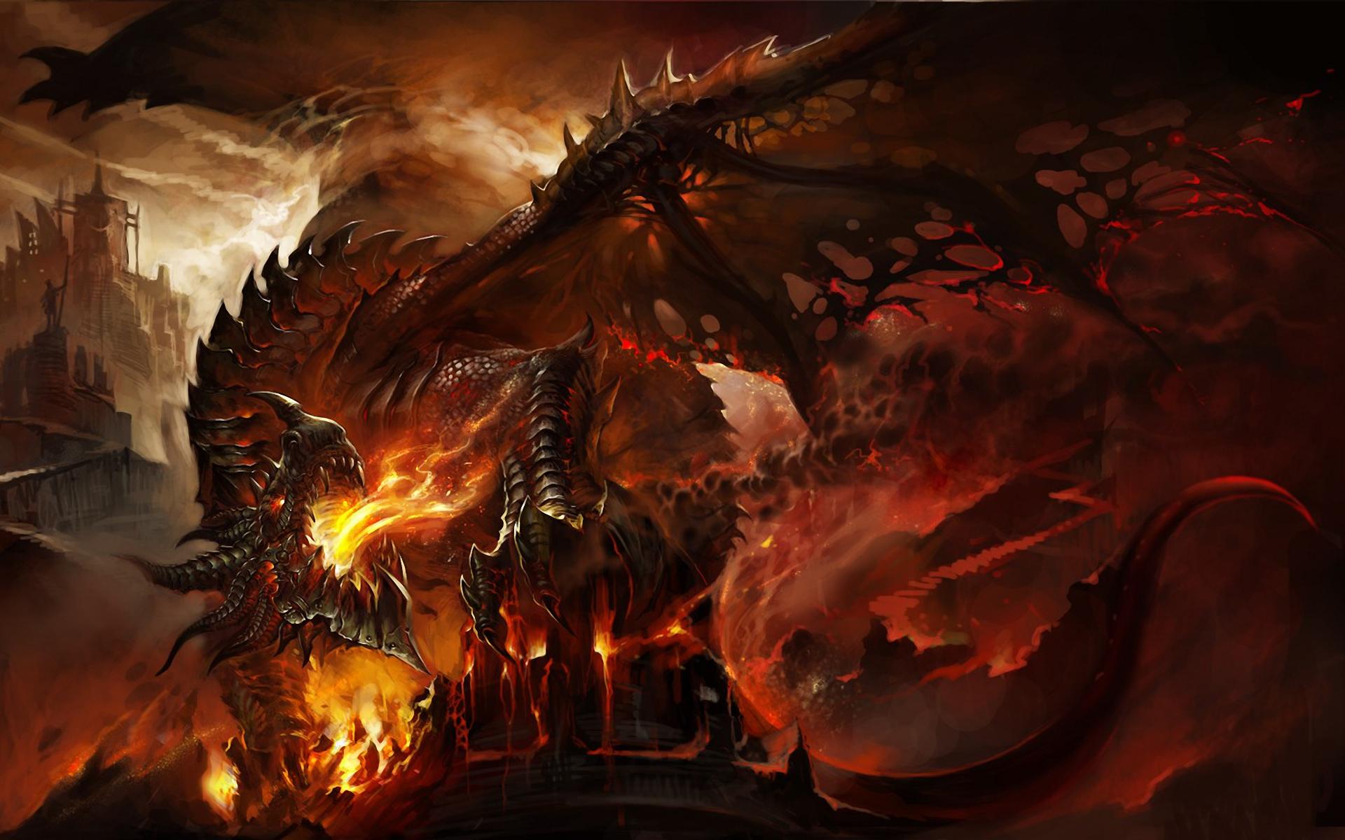 74 Epic Dragon Wallpaper On Wallpapersafari