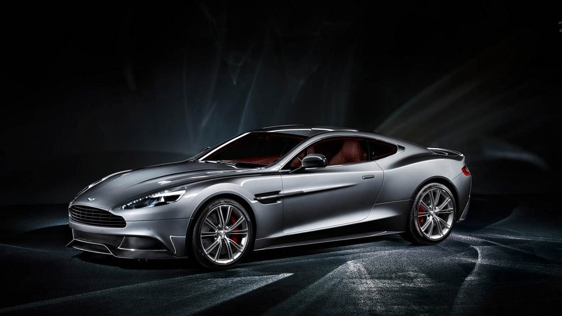 2014 Aston Martin Vanquish Desktop HD Wallpaper 1920x1080