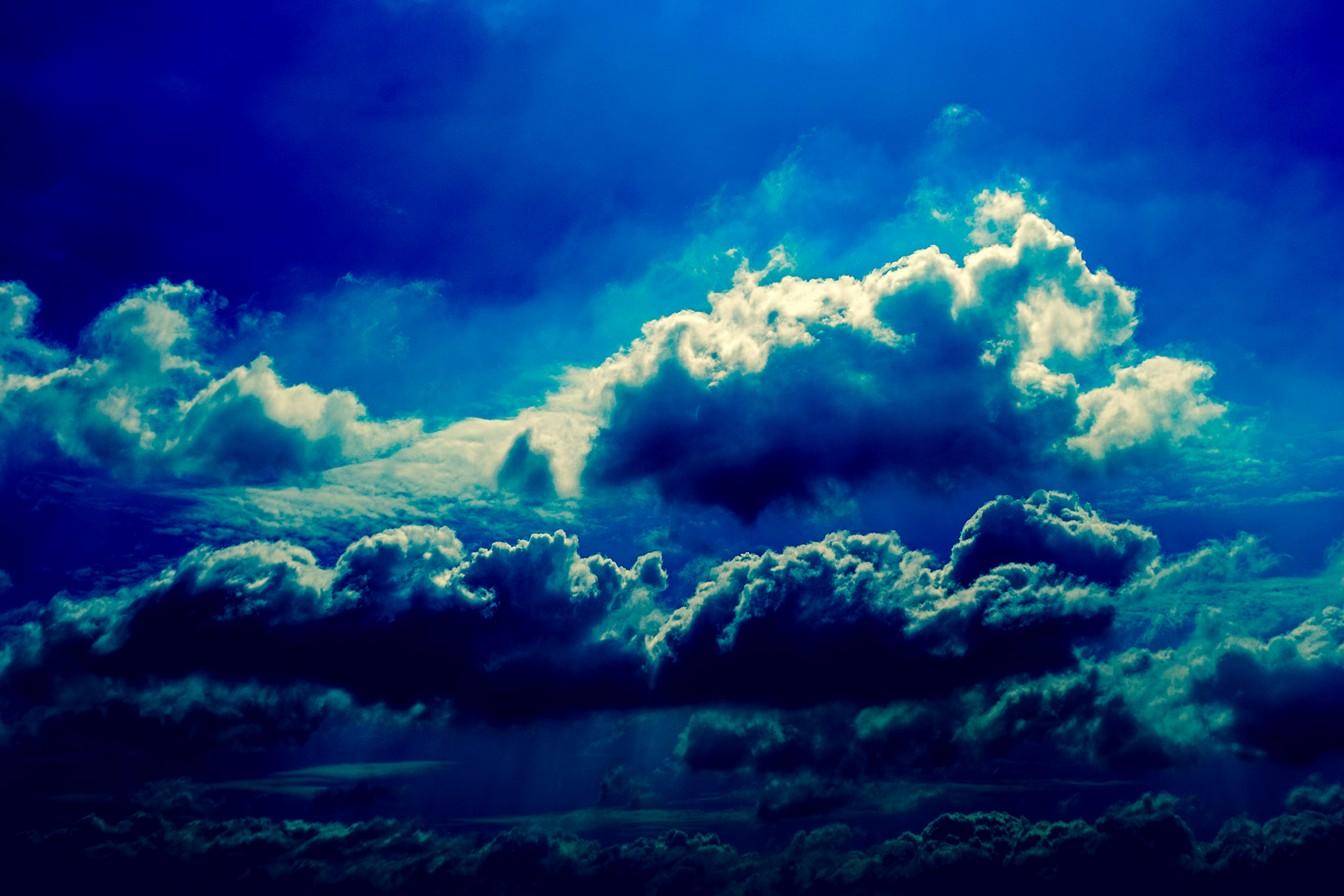 dark blue sky with - photo #18