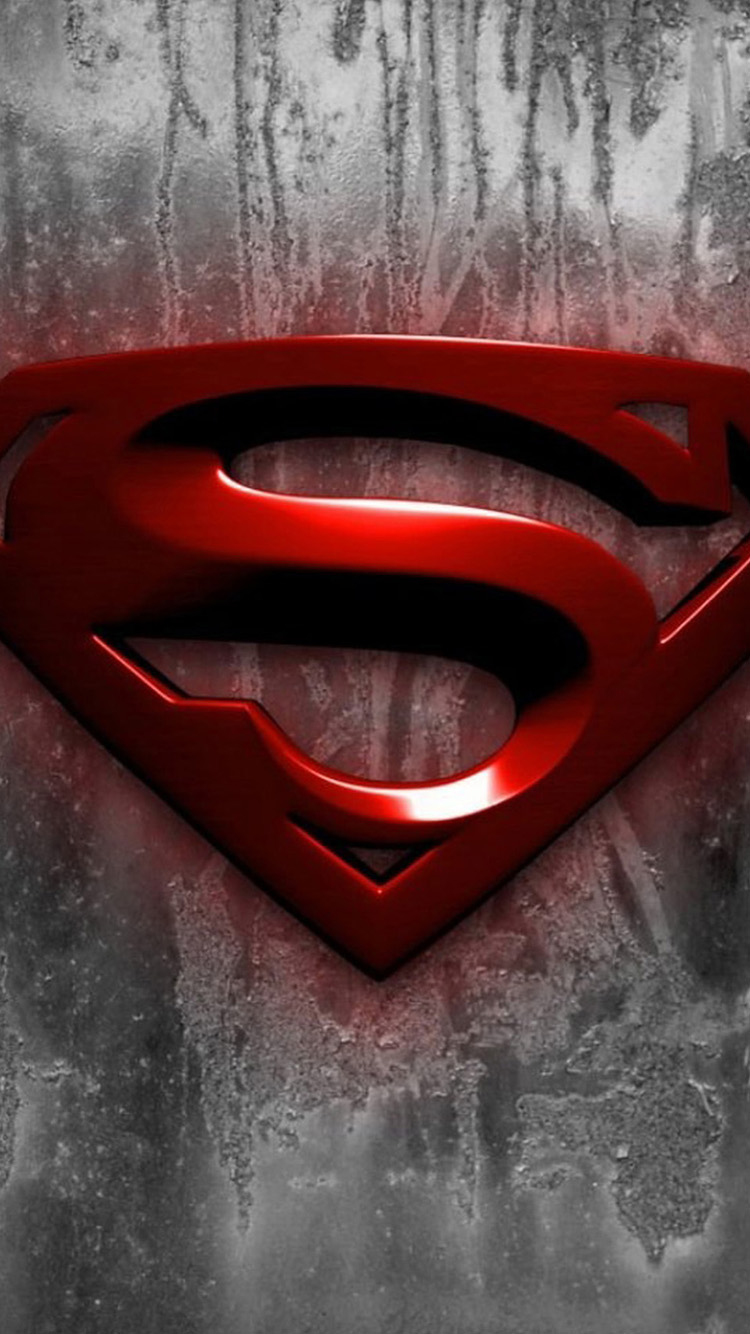 Superman Logo iPhone 6 Wallpapers iPhone 6 Wallpapers 750x1334