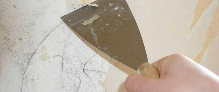 How to Remove Wallpaper Glue For the Home Pinterest 736x309