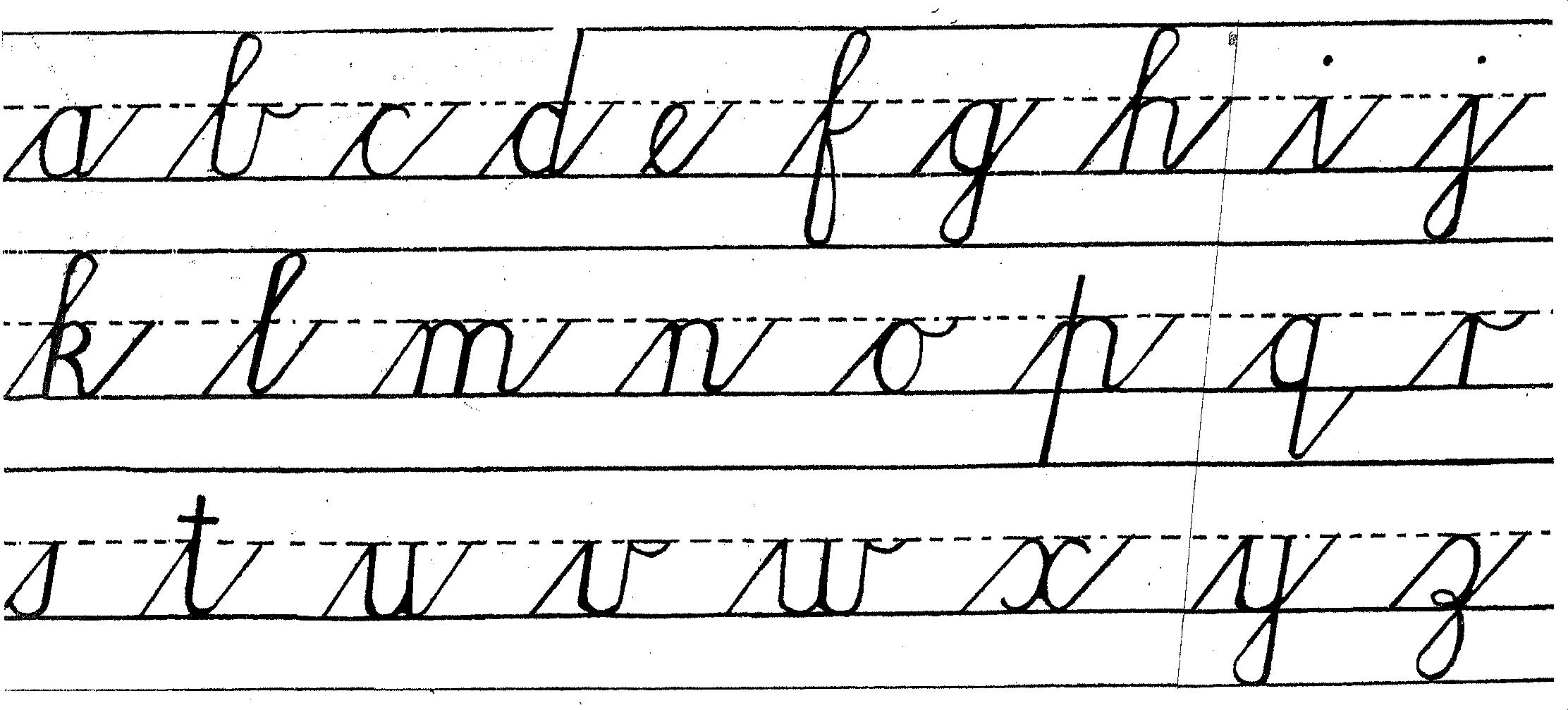 writing in cursive online When learning cursive writing, students should be taught tips such as tilting their paper and relaxing their grip, as well as how to recognize, form, and connect cursive letters play to learn: teachers or students select a list to turn into a.