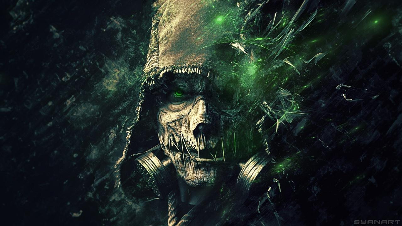 Green Scarecrow Batman Arkham Knight 1280 x 720 Download Close 1280x720