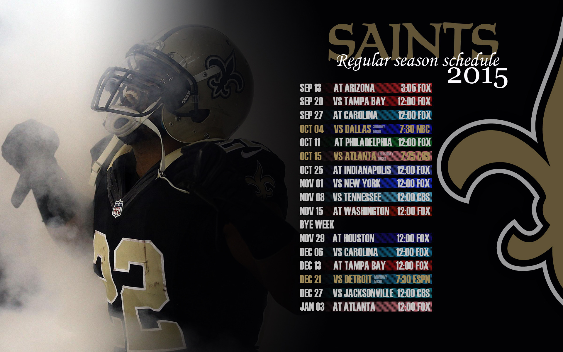 2015 SCHEDULE WALLPAPERS TigerDroppingscom 1920x1200