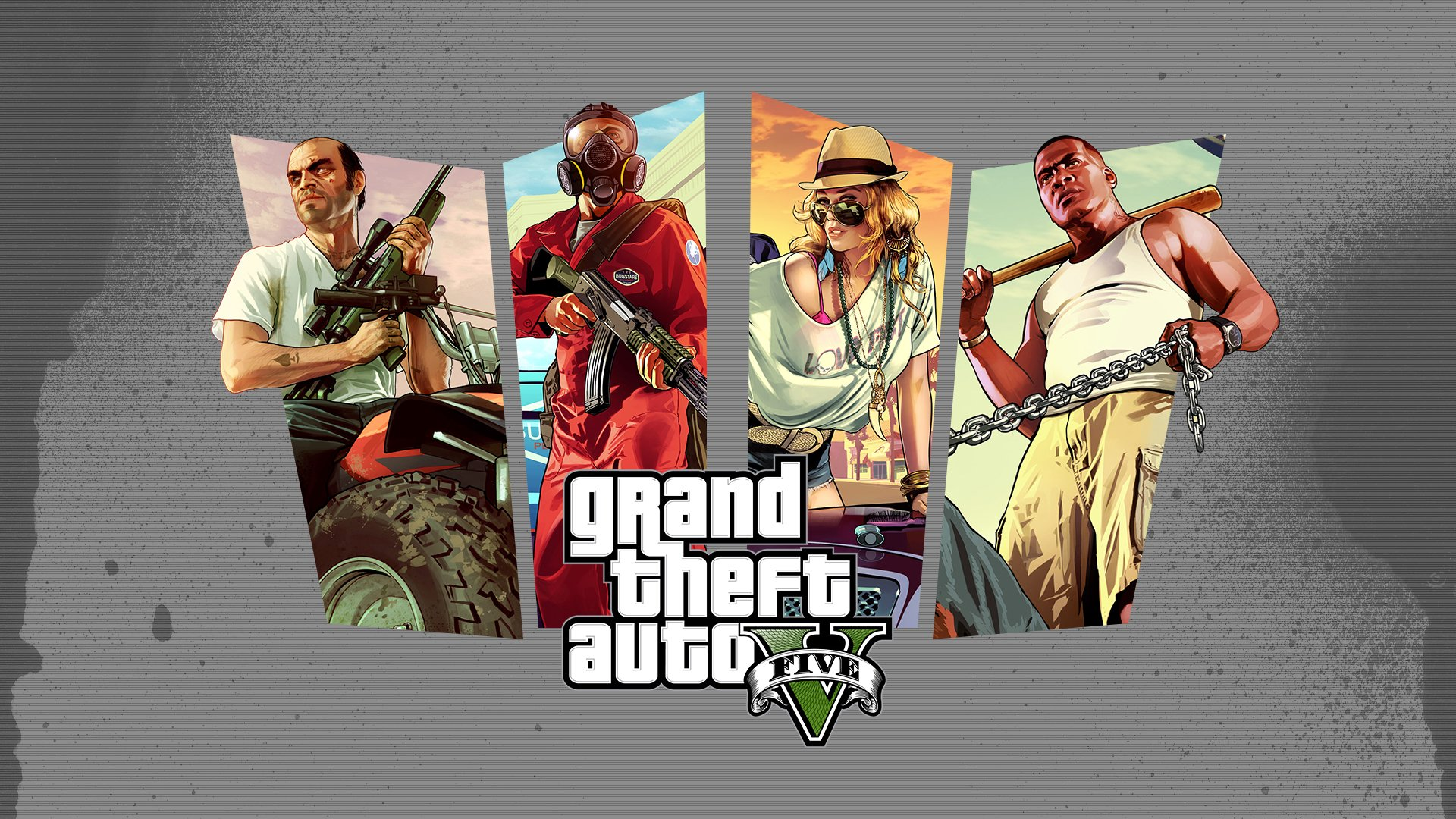 Grand Theft Auto V 2013 Wallpaper 1920x1080 by CREEPnCRAWL on 1920x1080