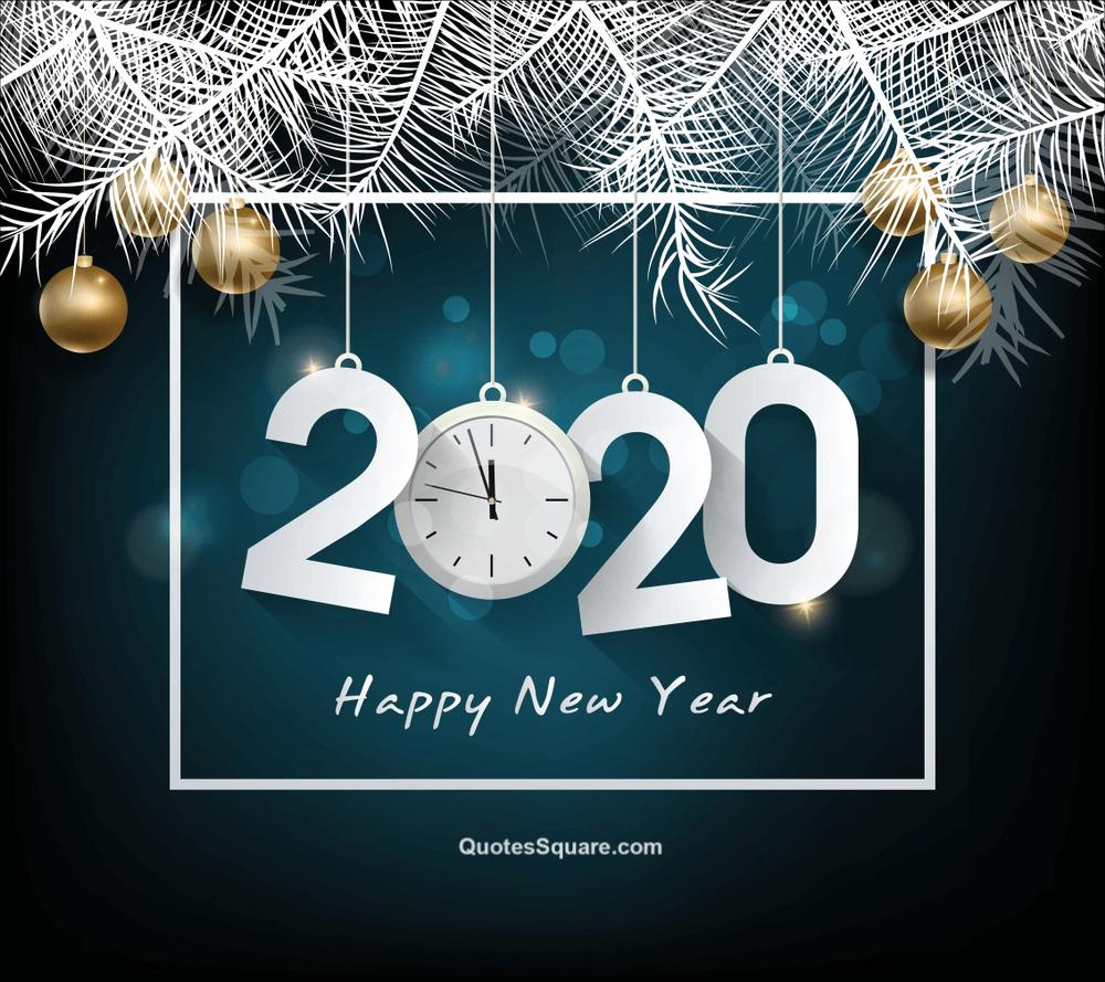 Happy New Year 2020 Clock Hd Wallpaper Download   Happy New 1000x889