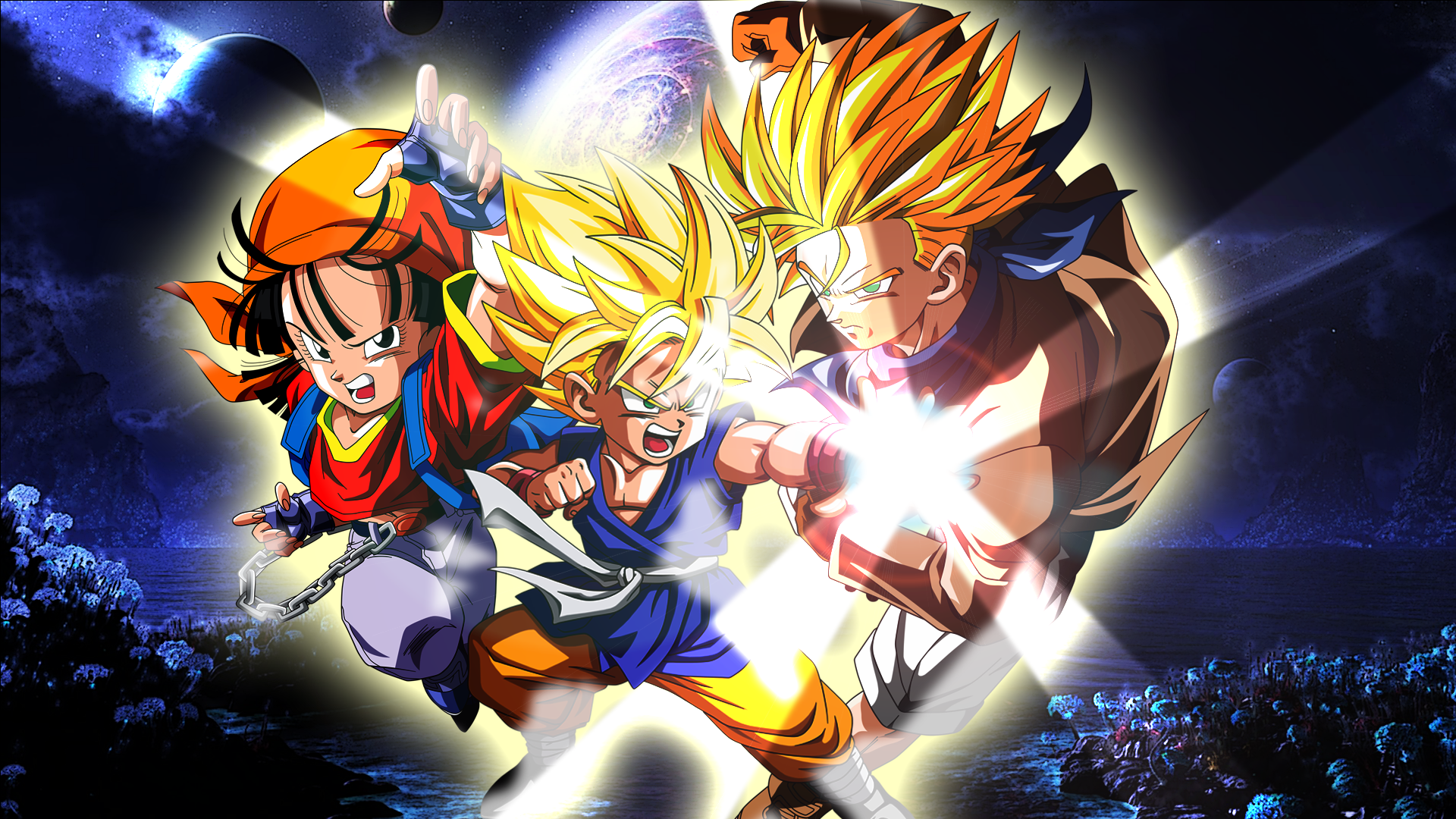 Wallpaper Dragon Ball Gt 1920x1080