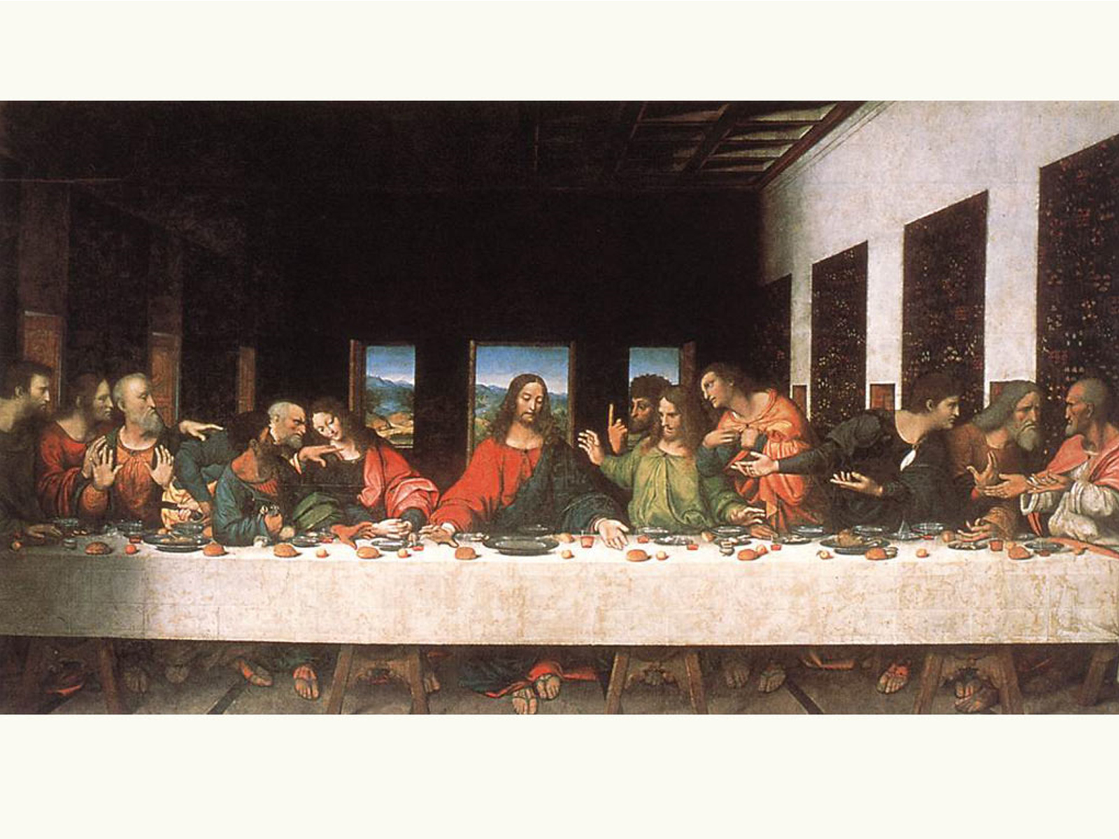 Da Vinci Last Supper Wallpapers 1600x1200