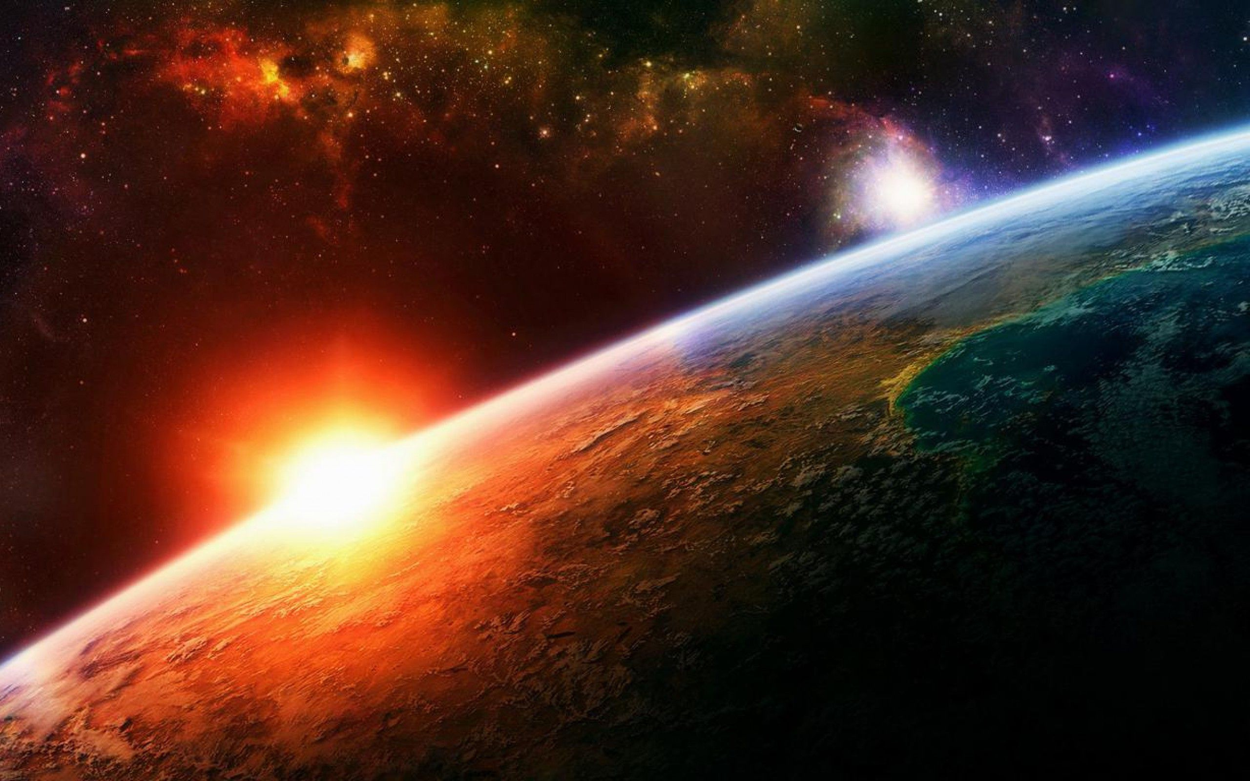45 Space Sunset Wallpapers   Download at WallpaperBro 2560x1600