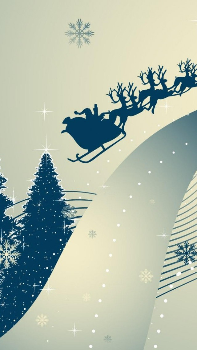 iPhone Smartphone Download HD Christmas Wallpapers for iPhone 5 640x1136
