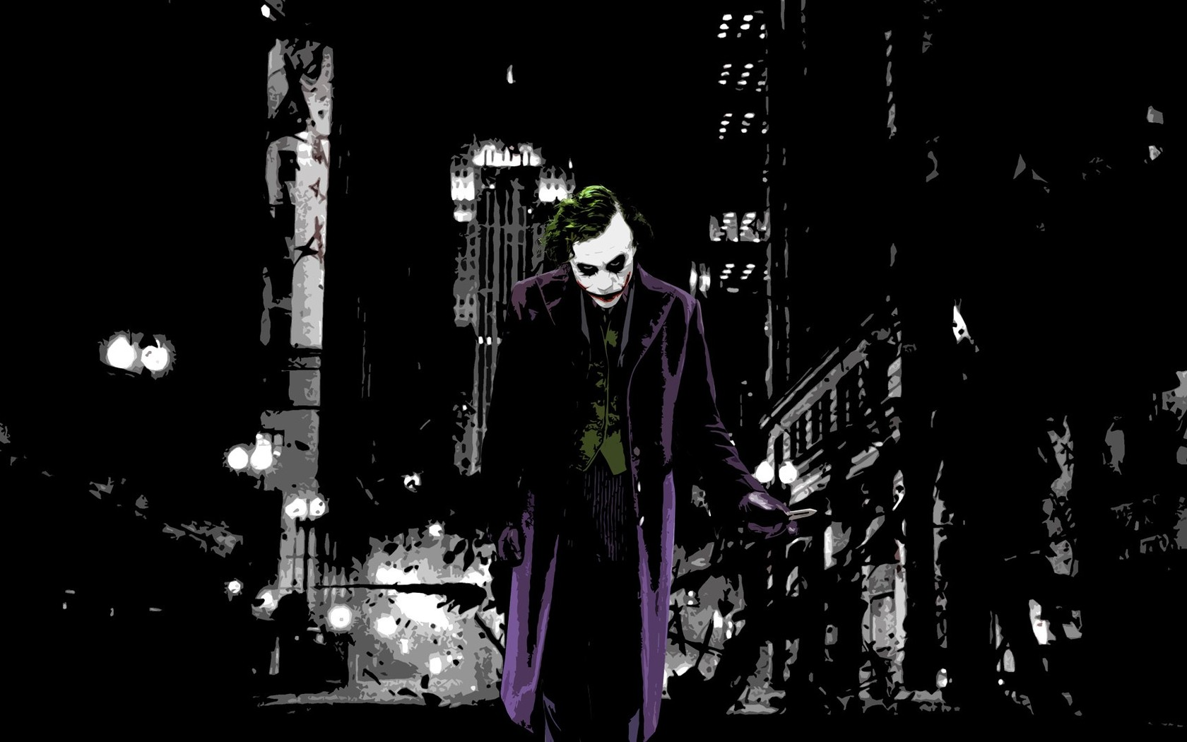The Joker   The Dark Knight wallpaper 4989 1680x1050