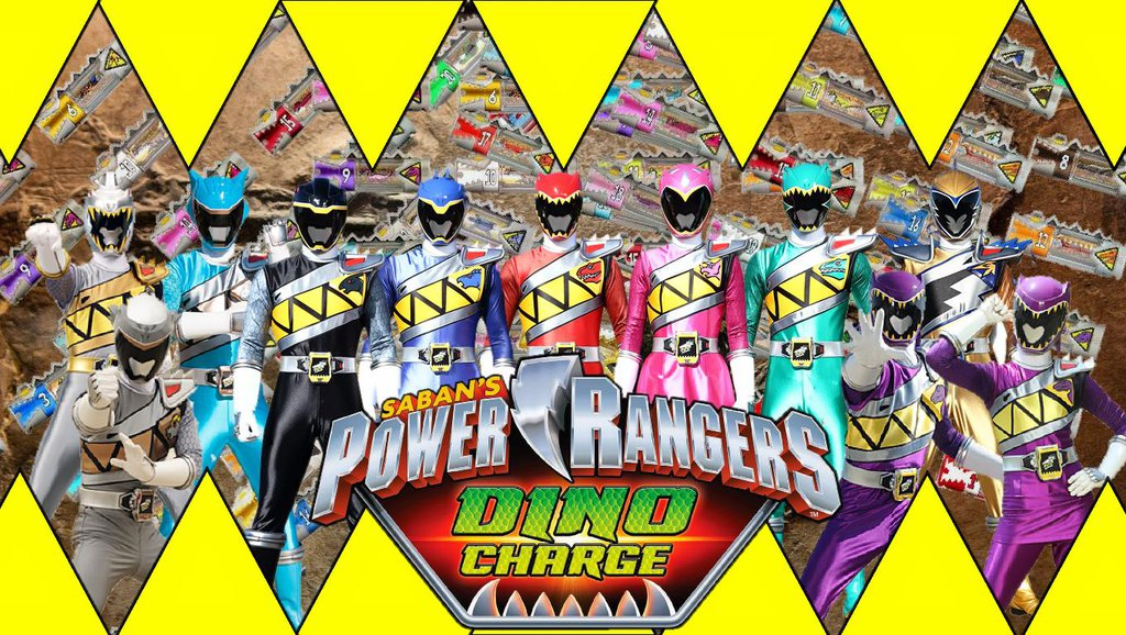 Power Rangers Dino Charge By Butters
