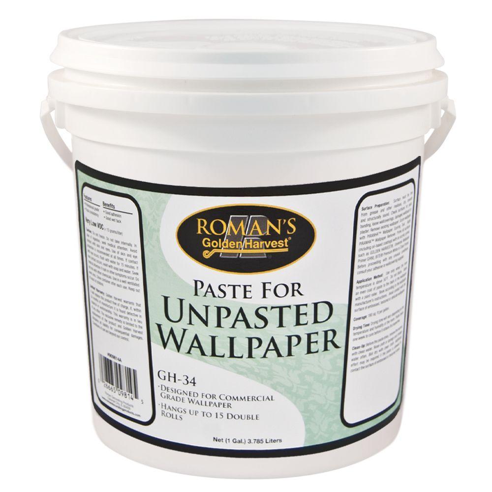 Golden Harvest GH 34 1 gal Paste for Unpasted Wallpaper 209814 1000x1000
