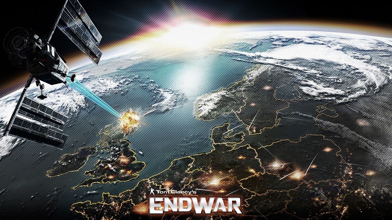 Tom Clancys EndWar Wallpaper Technology Tom clancy Wallpaper 1366x768