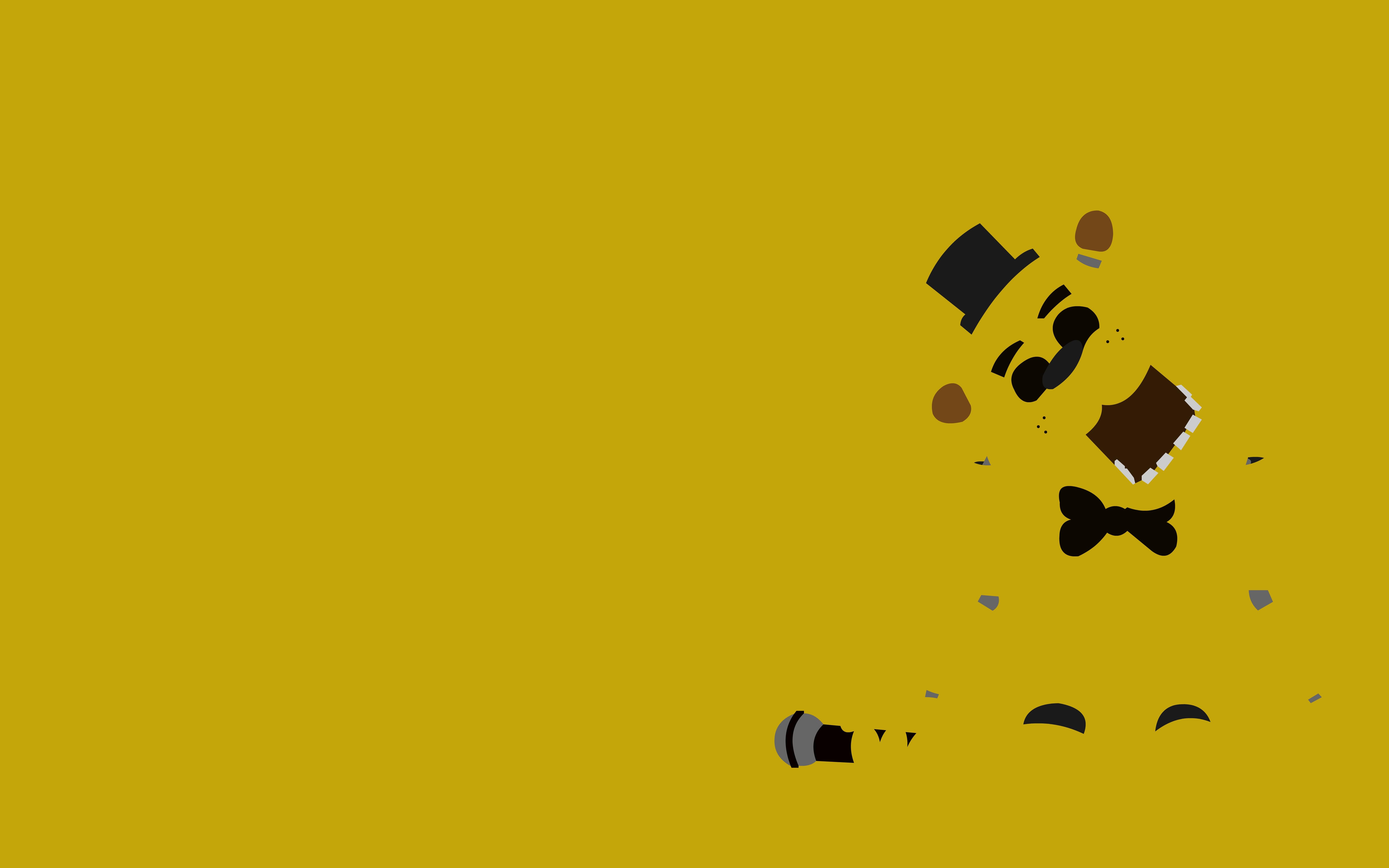 Golden Freddy by dragonitearmy 6667x4167