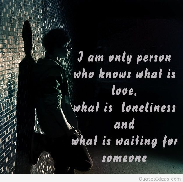 Sad Boy Alone Quotes: Alone Wallpapers With Quotes