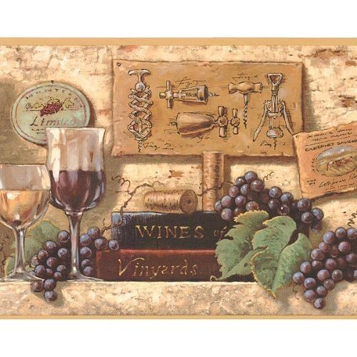 Free Download Tuscan Wine Bottles Grape Wallpaper Border Home Kitchen 500x500 For Your Desktop Mobile Tablet Explore 43 Tuscan Grapes Wallpaper Border Wallpaper Borders With Grapes Wine And Grapes