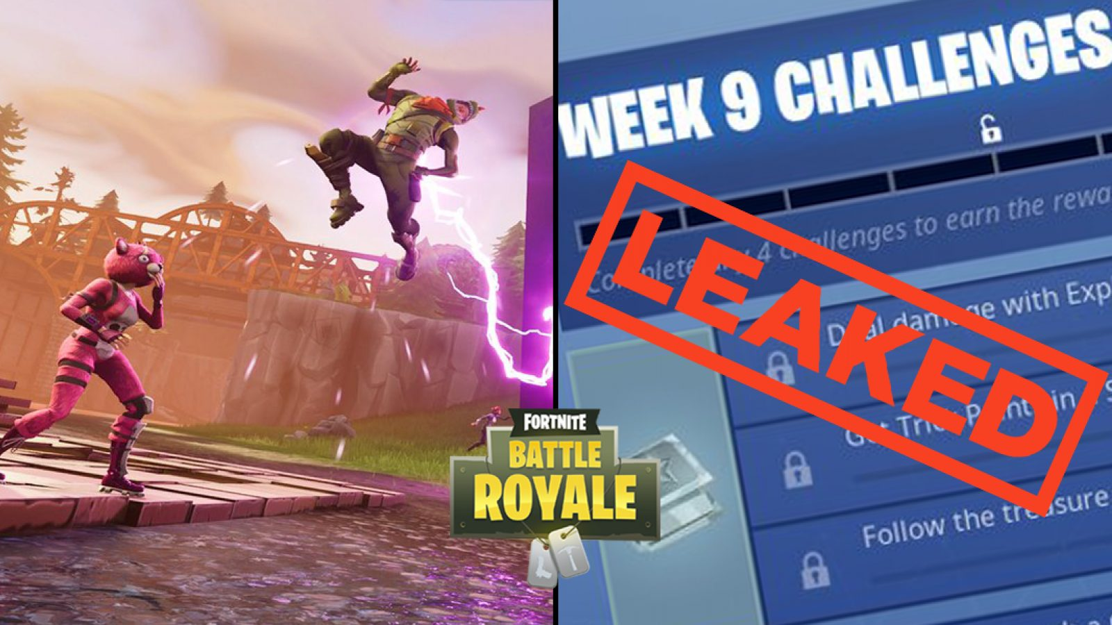 Fortnite Challenges for Week 9 of Season 5 Have Been Leaked 1600x900
