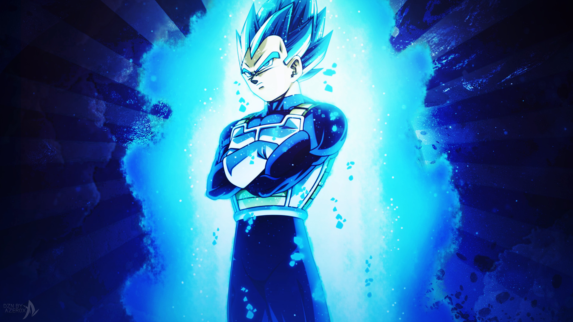 Vegeta Super Saiyan Blue Iphone Wallpaper Gambarku