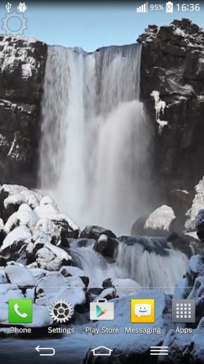 Sound Live Wallpaper Download   Waterfall Sound Live Wallpaper 288x512