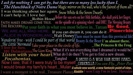Disney Quotes by jay3jay 527x300