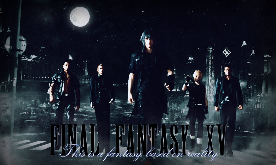 46 Final Fantasy 15 Wallpapers On Wallpapersafari